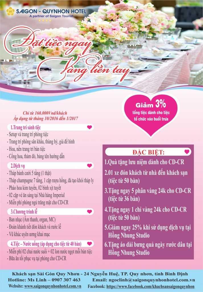 Brochure tiec cuoi 2016 1 to